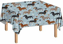 Showudesigns Wipe Clean Tablecloth for Rectangle