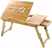 Shoze Bamboo Folding Notebook Table Desktop