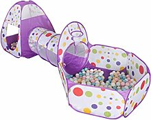 Shoze Kids Play Tent with Tunnel 3 in 1 Soft Play