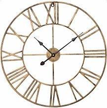 Shoze Round Kitchen Wall Clock Vintage Roman