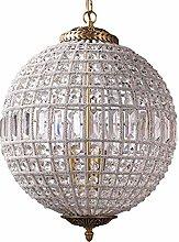 SHSM Adjustable Luxurious Globe Chandelier Pendant