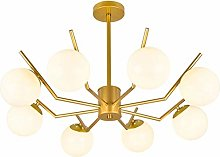 SHSM Adjustable Metal Chandelier,Modern Industrial