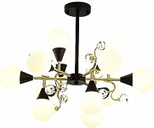 SHSM Adjustable Metal Sputnik Chandeliers