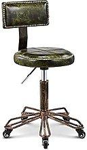 SHSM Bar Chair Front Desk Retro Coffee Chair High