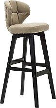 SHSM Barstools Wooden Bar Stools,Kitchen Bar Chair