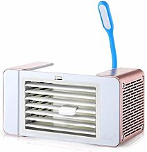 SHSM Mini Desktop Air Conditioner Fan with Led