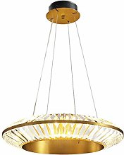 SHSM Modern Crystal Pendant Lighting,Led Copper