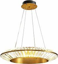 SHSM Modern Crystal Pendant Lighting,Led Copper