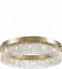 SHSM Modern Round Crystal Chandeliers