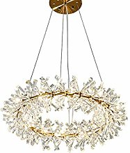 SHSM Modern Round Wreath Crystal