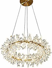 SHSM Modern Round Wreath Crystal