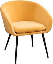 SHTFFW Velvet Leisure Armrest Sofa Chair