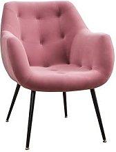 SHTFFW Velvet Sofa Chairs Soft Cushioned Backrest