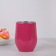 SHthree 12oz eggshell cup 304 stainless steel red