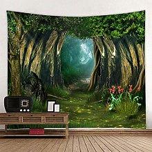 shuaiqiang Fantasy Forest Print Large Wall