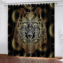 shuimanjinshan Blackout Curtains - 3D Printing