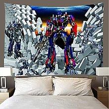 shuimanjinshan Tapestry Beach Throw Autobots Wall