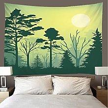 shuimanjinshan Tapestry Beach Throw forest Wall