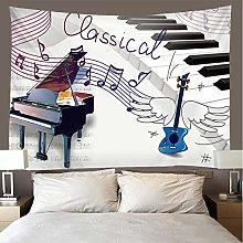 shuimanjinshan Tapestry Beach Throw piano Wall