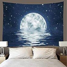 shuimanjinshan Tapestry Beach Throw Sea moon Wall