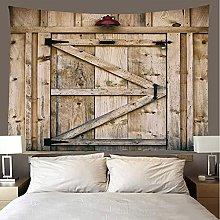 shuimanjinshan Tapestry Beach Throw Vintage planks