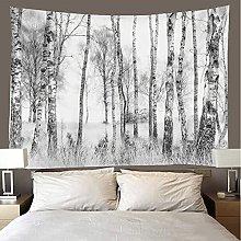 shuimanjinshan Tapestry Beach Throw White birch