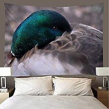shuimanjinshan Tapestry Beach Throw wild duck Wall