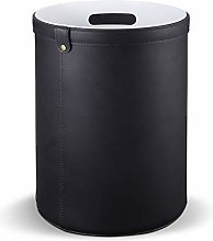 SHUTING2020 Garbage Can Cylindrical Trash Can