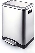 SHUTING2020 Garbage Can Stainless Steel Trash Can