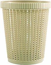 SHUTING2020 Garbage Can Waste Bin with Trash Bag