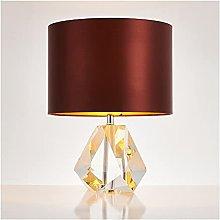 SHUTING2020 Living Room Bedroom Table Lamp Crystal