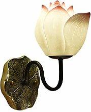 SHUTING2020 Wall lamp Wall Lamp New Chinese Lotus