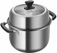 SHUUY Steamer Stainless Steel Double-Layer