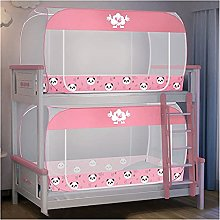 SHUWB Mosquito Net Student Dormitory Bunk Bed