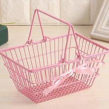SHYPT Cute Mini Supermarket Shopping Basket Small