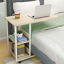 SHYPwM Bedside Laptop Desk With Wheels Sofa Side
