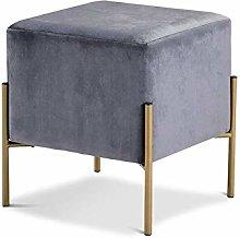 SHYPwM Sofa Stool Simple Fabric Stool Sofa