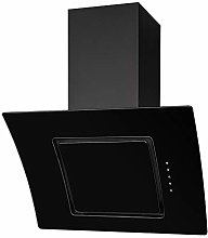 SIA 60cm Black Touch Control Angled Curved Glass