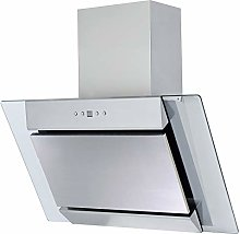SIA AGL61SS 60cm Angled Stainless Steel Chimney