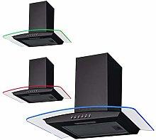 SIA CPLE70BL 70cm Black 3 Colour LED Edge Curved