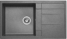 SIA Valamu80GR 1.0 Bowl Graphite Grey Granite