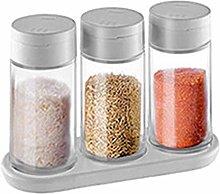 SIBUHA Condiment Jar Food Storage Container Spice