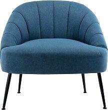 Side Chair Blue Elephant Upholstery Colour: Blue