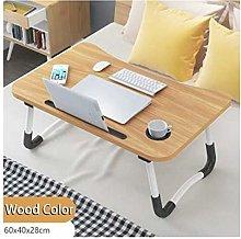 Side Table Mobile Table Workstation Home Folding