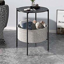 Side table|Round small coffee table|Mini sofa