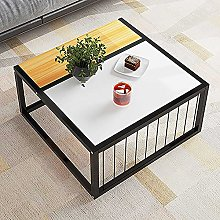 Side Table, Sofa Side Snack Table, Stackable End