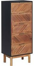 Sideboard 45x32x115 cm Solid Acacia Wood and MDF
