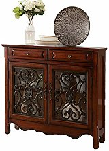 Sideboard Cabinet Drawer Chest Wood Buffet Storage