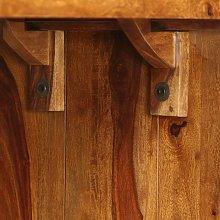 Sideboard/Desk Solid Sheesham Wood Brown QAH10476