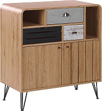 Sideboard Retro Vintage Style Cabinet Storage 2